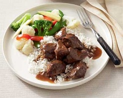 Braised Soy Ginger Honey Beef